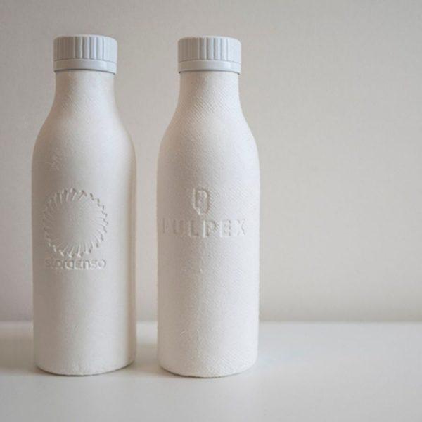 Pulpex Paper Based Bottles
